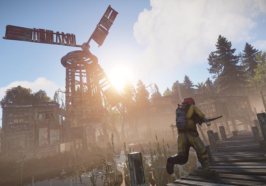 Популярный симулятор выживания Rust перенесут на приставки