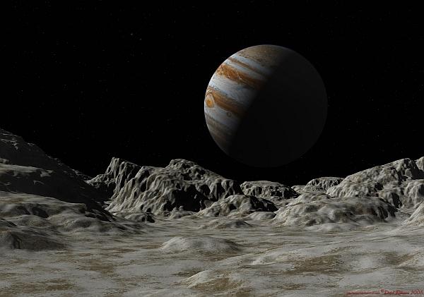 Ученые обнаружили на спутнике Юпитера водяной пар