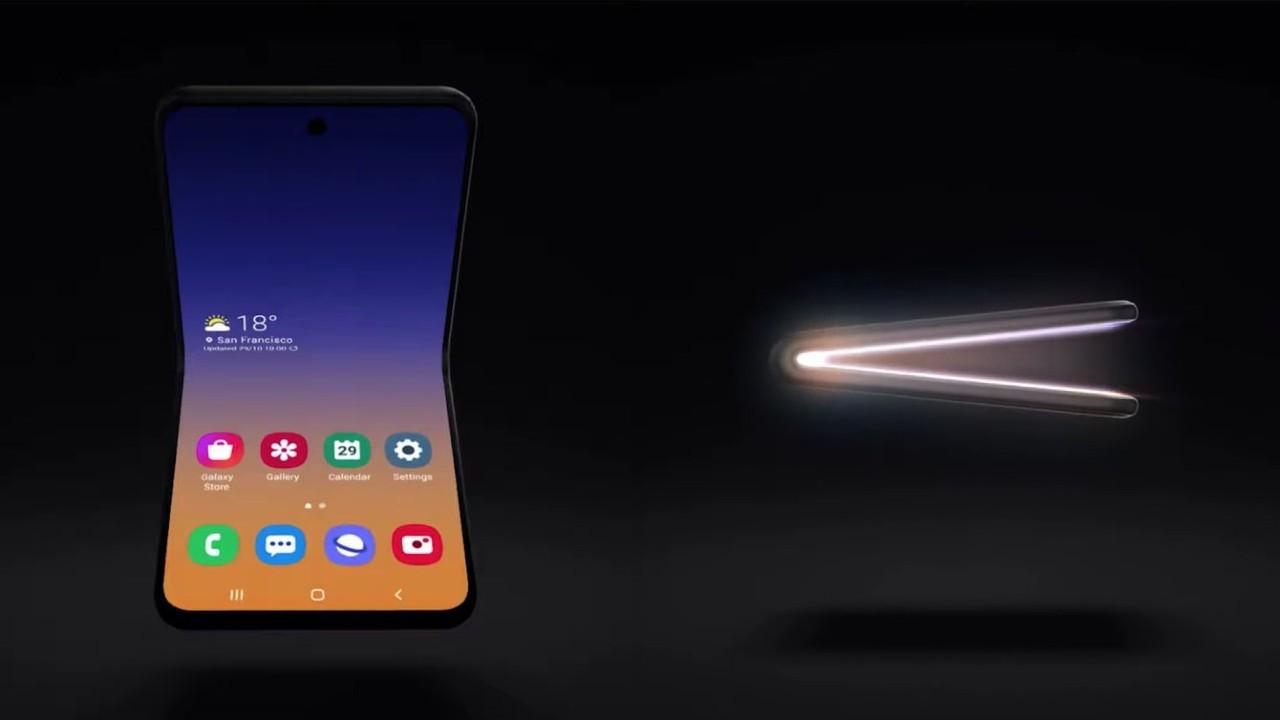 Samsung представила улучшенную версию своего гибкого смартфона