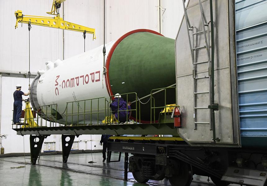 В России готовятся отправить на орбиту космический грузовик