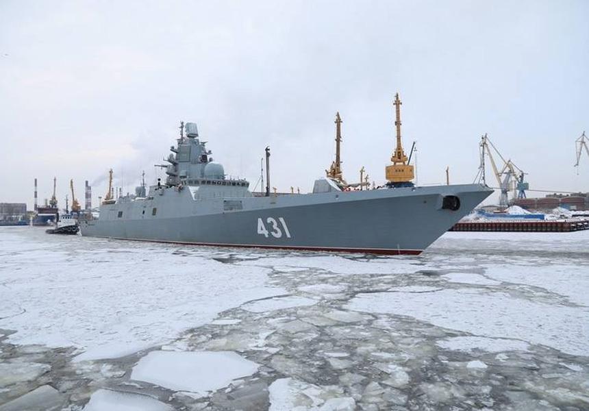 В России рассекретили новые военные корабли для флота