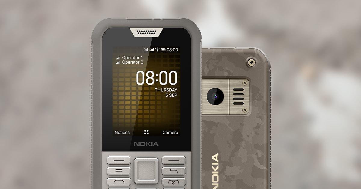 Объявлена российская цена нового неубиваемого телефона Nokia