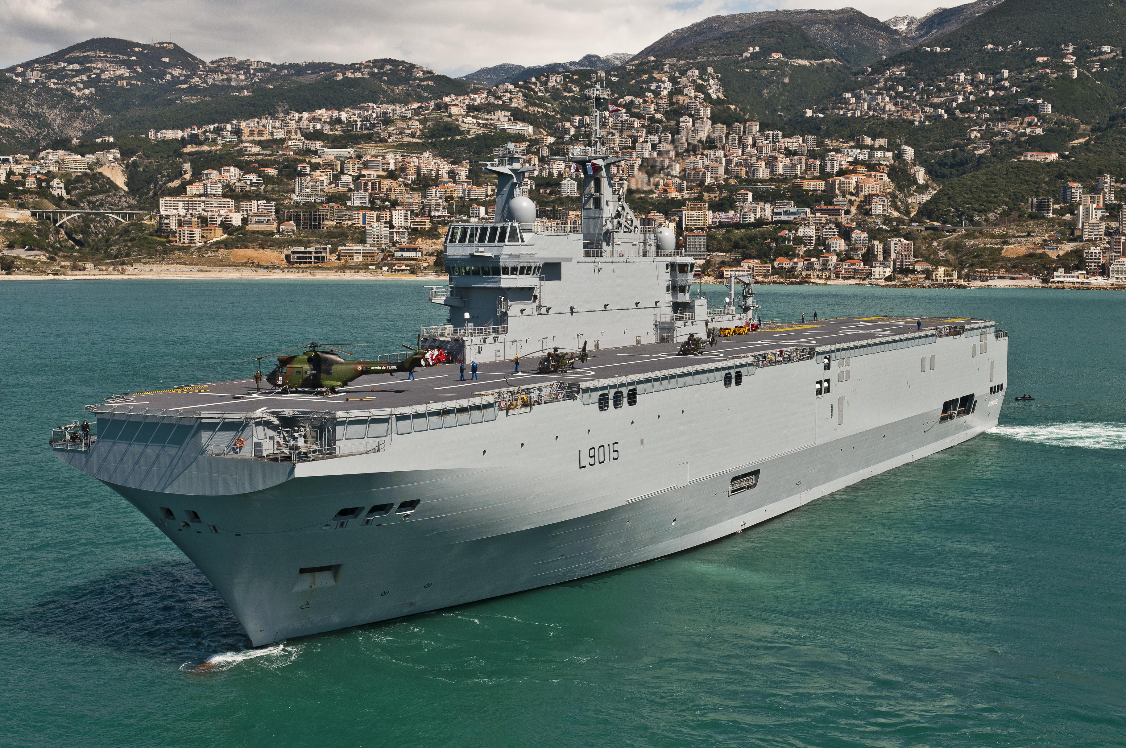 Минобороны России определилось с необходимым количеством универсальных десантных кораблей