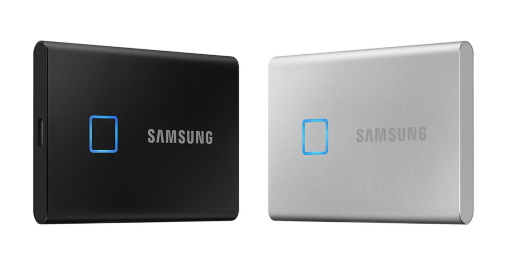 Samsung защитила накопитель SSD сканером отпечатков пальцев