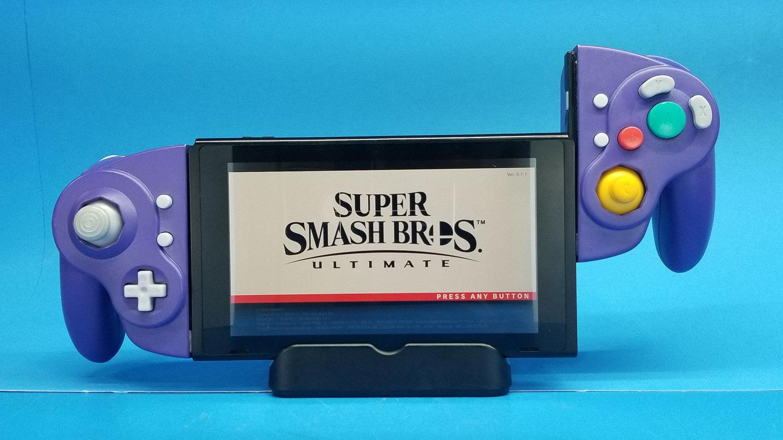 Ретро-геймпады превратили в контроллеры для Nintendo Switch