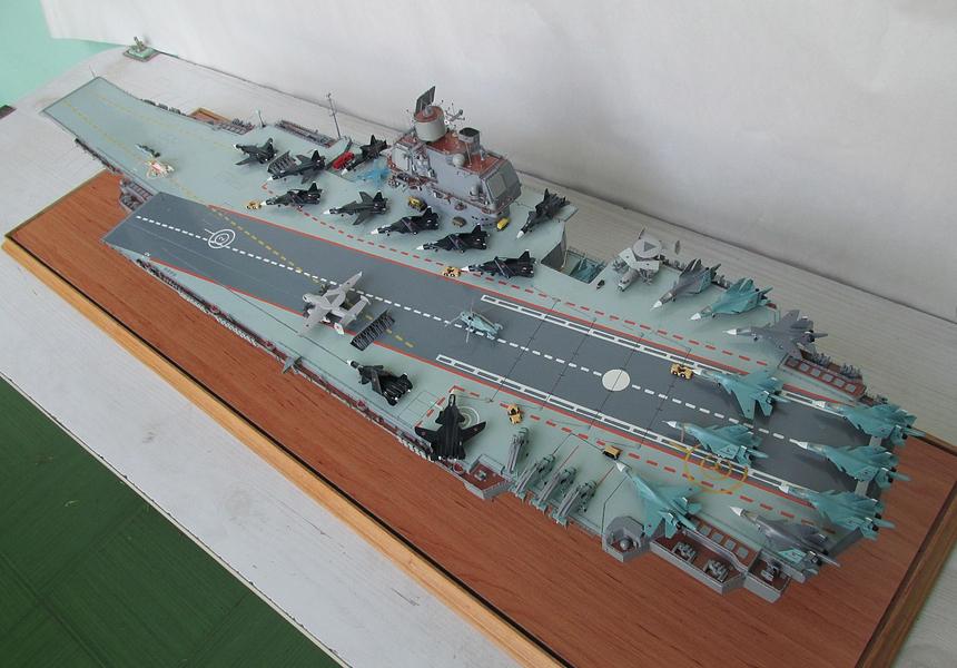 Россия построит новый авианосец на основе советского проекта