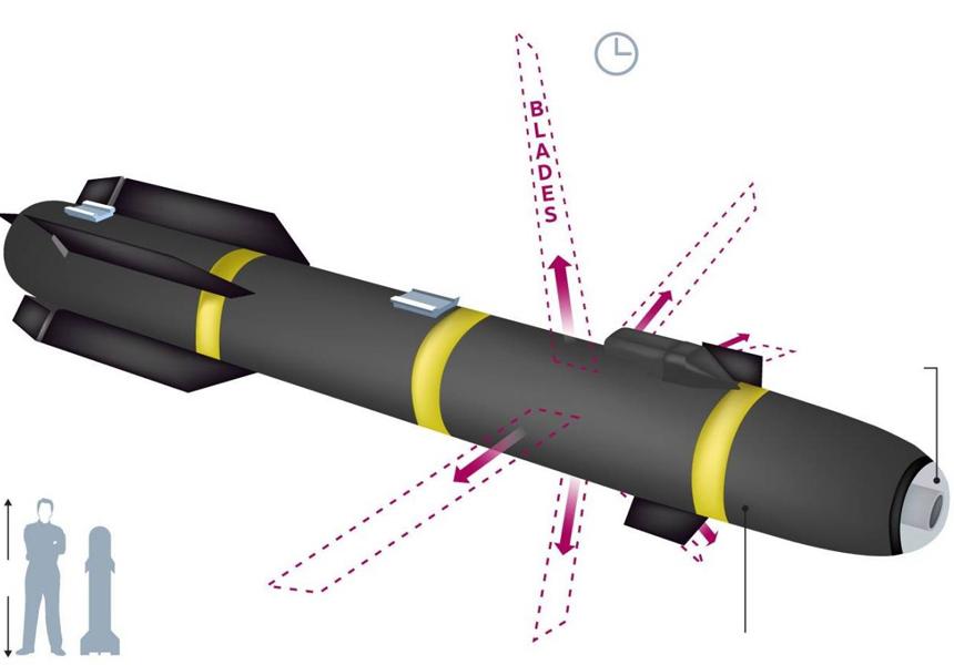 В Афганистане впервые выпустили ракету с лезвиями