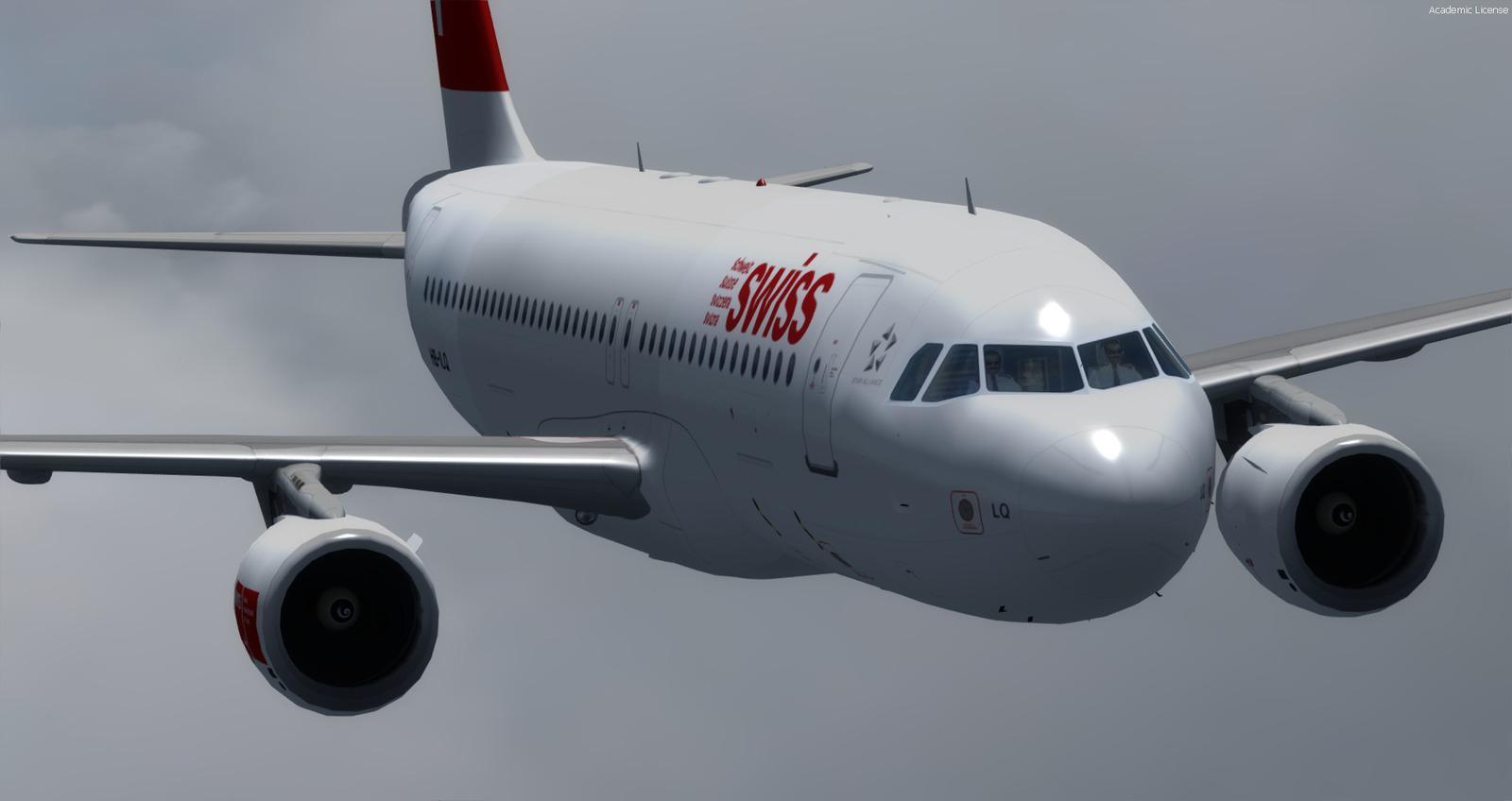 В Европе из самолета Airbus A320 выпал член экипажа