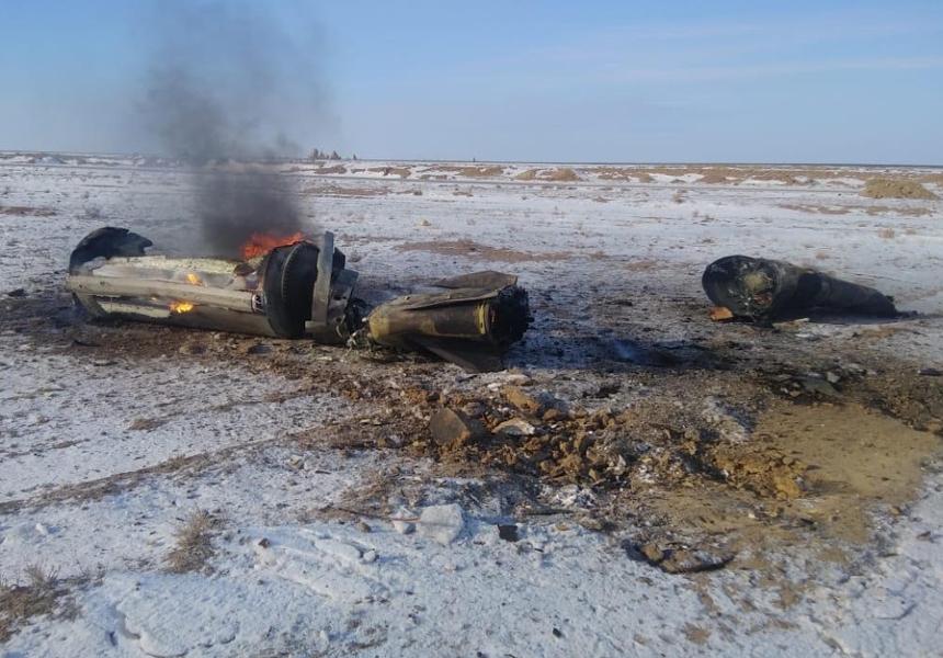 Запрещённая ранее российская ракета упала в Казахстане
