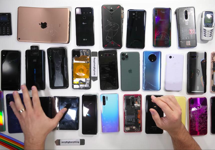 Составлен рейтинг самых прочных смартфонов 2019 года