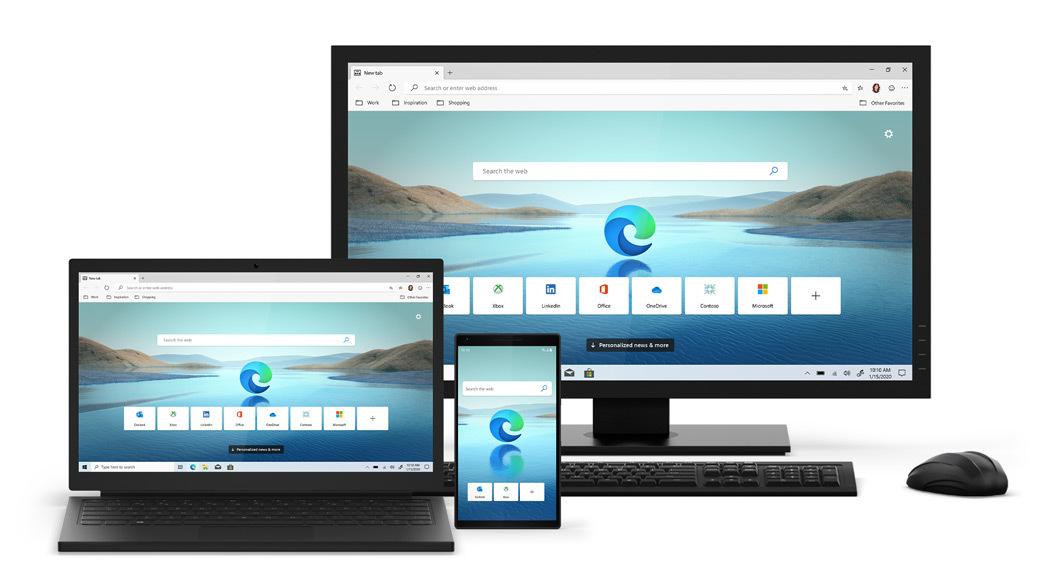Выпущен новый браузер Microsoft