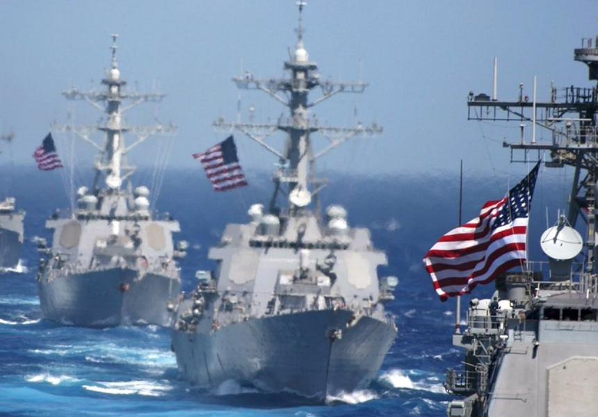 Флоты России, США и Китая сравнили по мощности