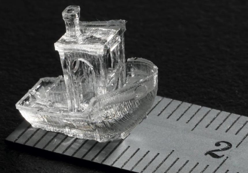 Учёные нашли способ печатать объекты на 3D-принтере за секунды