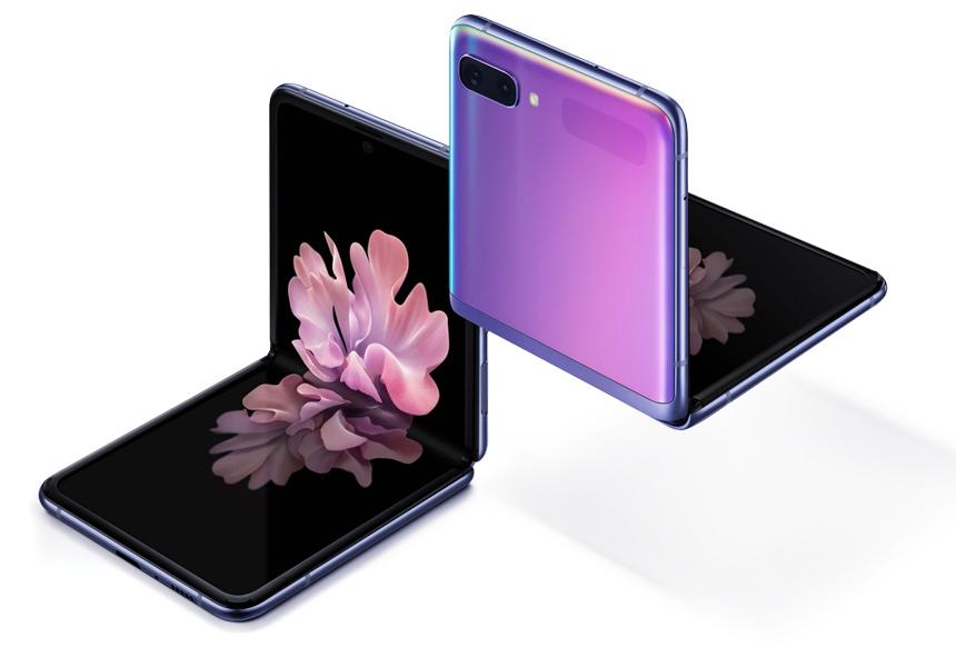 В России начались продажи новой раскладушки Samsung с гибким экраном