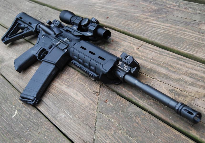 В России разработали аналог американской винтовки M16