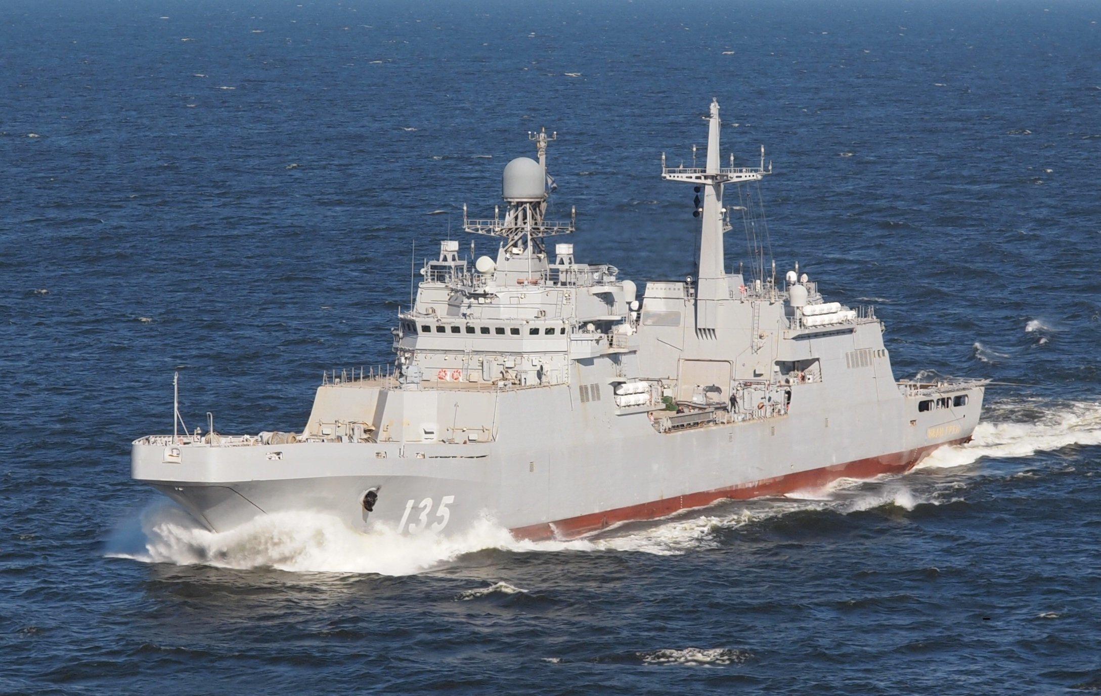 Стало известно, когда российский флот оснастят десантными кораблями проекта 11711
