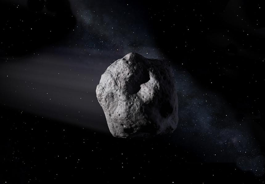 Астрономы показали снимки потенциально опасного астероида