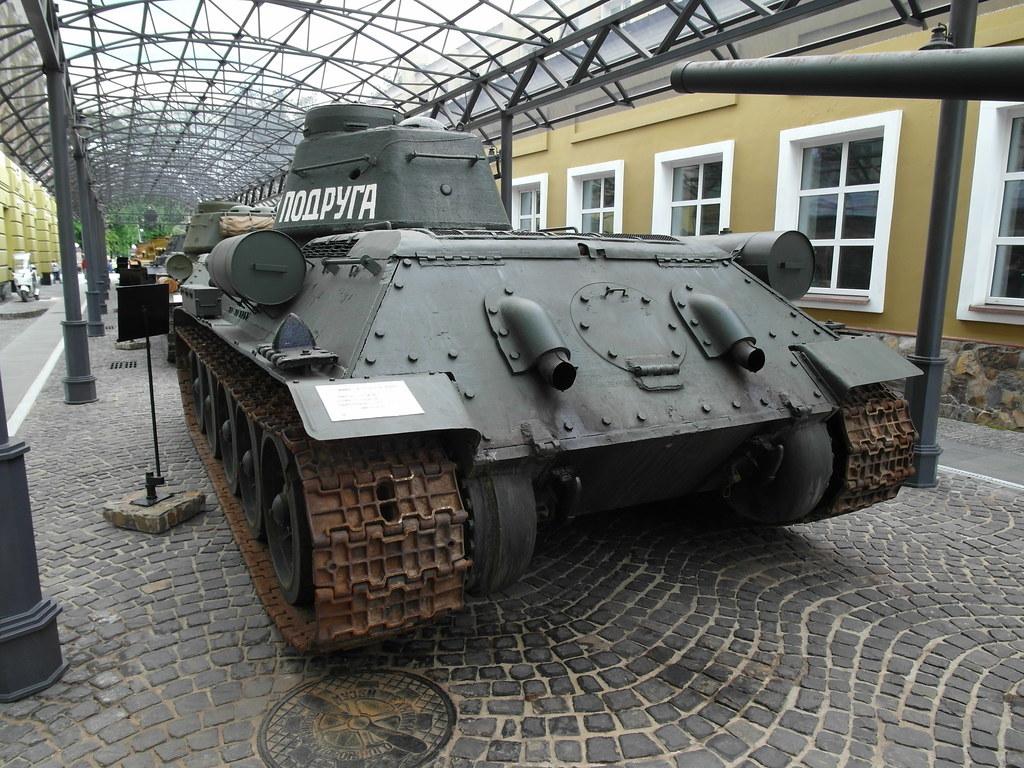 В России испытали именной танк Боевая подруга времен Великой Отечественной