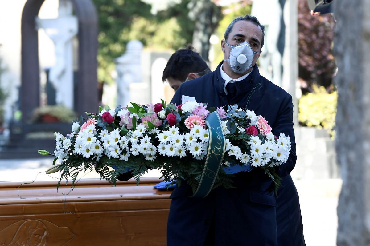 В Украине разработали особый обряд для погребения умерших от коронавируса