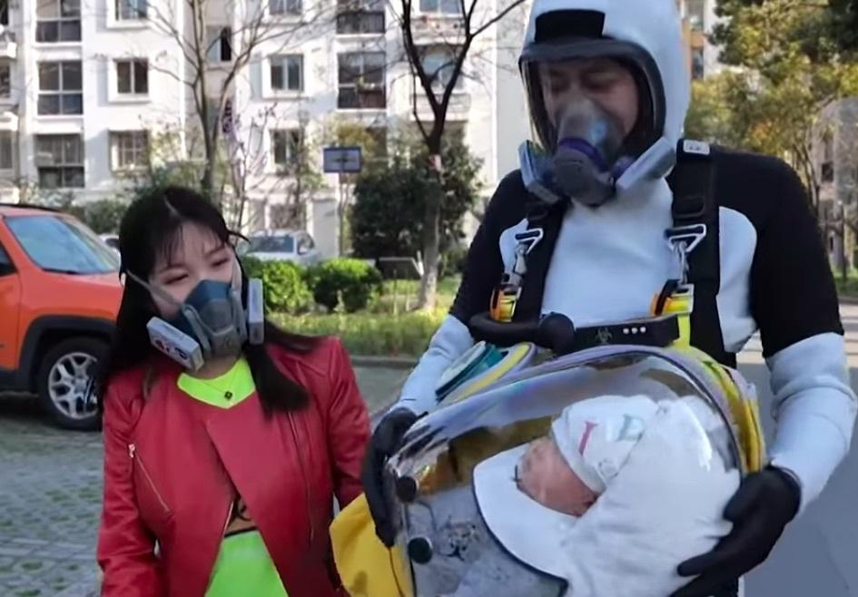 Популярная игра Death Stranding помогла китайцу придумать защитную капсулу от коронавируса для ребенка