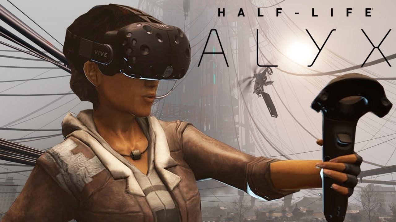 Учитель математики провел урок геометрии в виртуальной реальности в новой игре Half-Life: Alyx