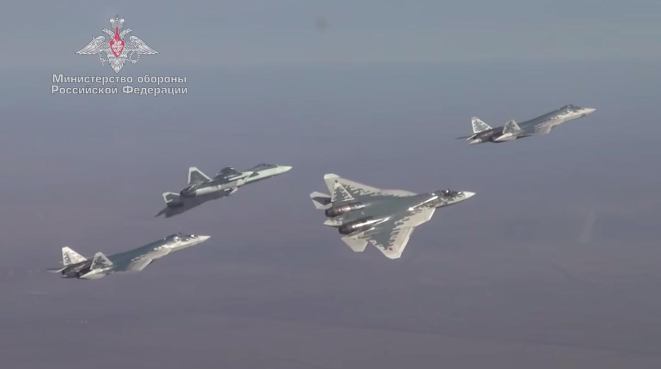 Российский истребитель Су-57 испытали на предельных режимах