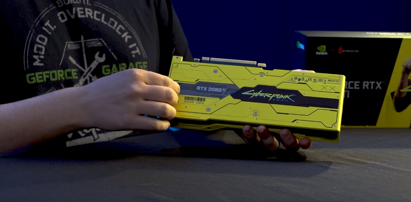 Коллекционную GeForce RTX 2080 Ti Cyberpunk Edition продают почти за 400 тыс рублей