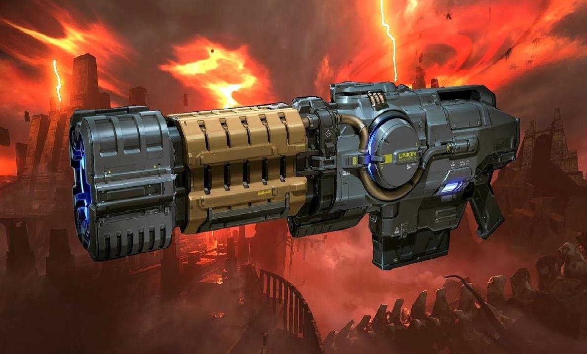 Российский энтузиаст создал копию оружия из легендарной серии игр DOOM