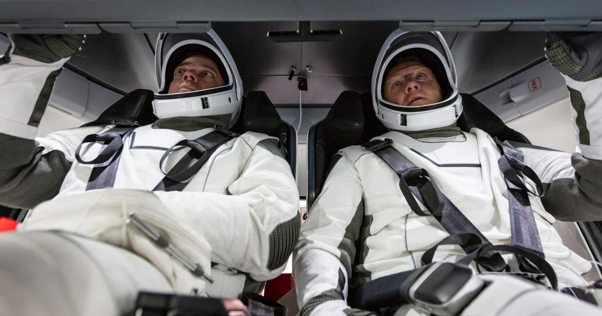 США опубликовали фото аппарата, призванного разрушить монополию России в пилотируемой космонавтике