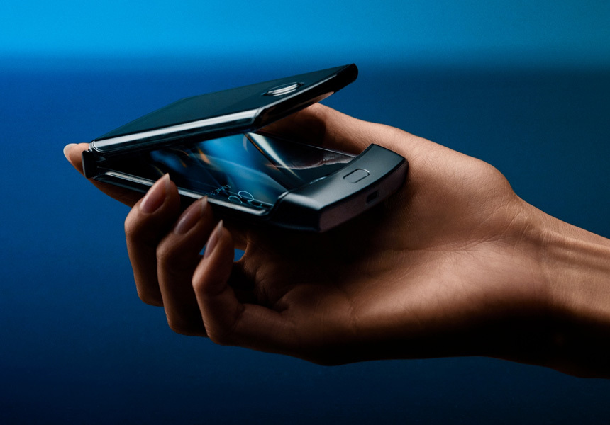 Названы сроки выхода новой «раскладушки» с гибким экраном Motorola