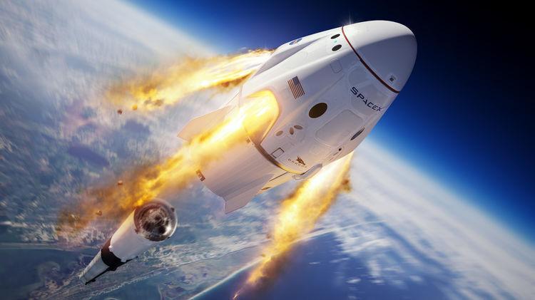 Перечислены плюсы и минус запуска американского космического корабля Crew Dragon для России