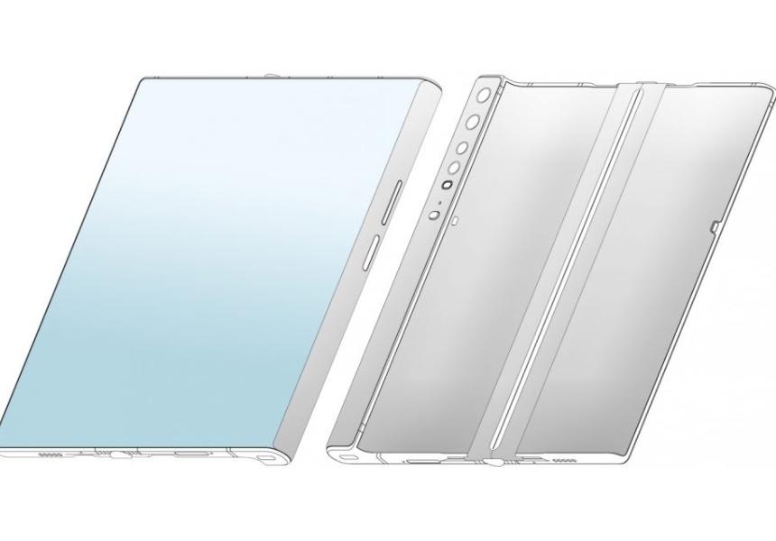 Xiaomi запатентовала гибкий смартфон, очень похожий на модель Huawei