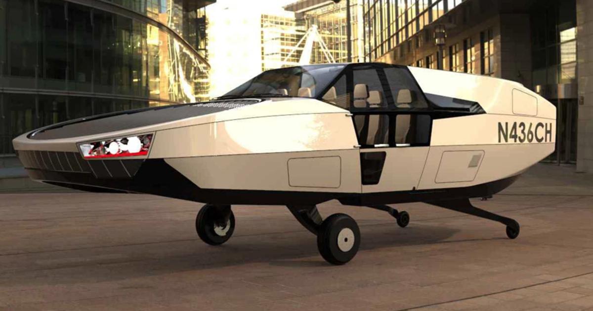Анонсирован летающий автомобиль в стиле машины из «Назад в будущее»