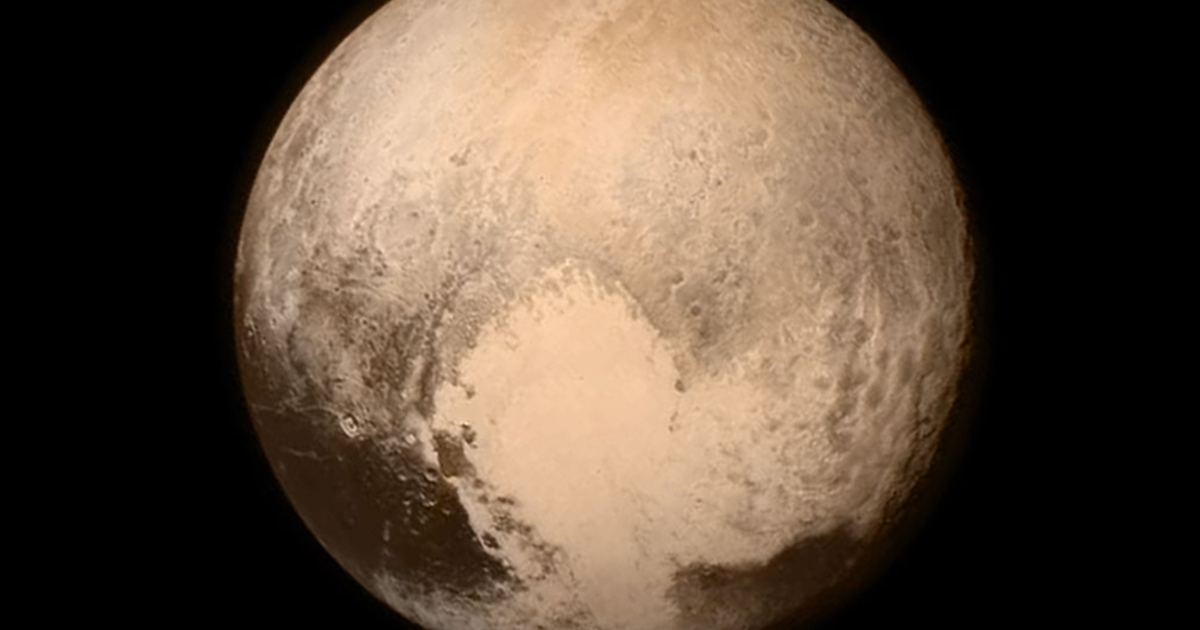 Учёные рассказали об океанах в прошлом Плутона
