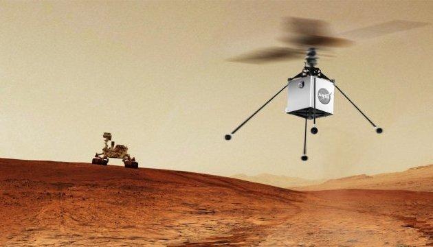 NASA отправит на Марс вертолет для пролета над поверхностью планеты