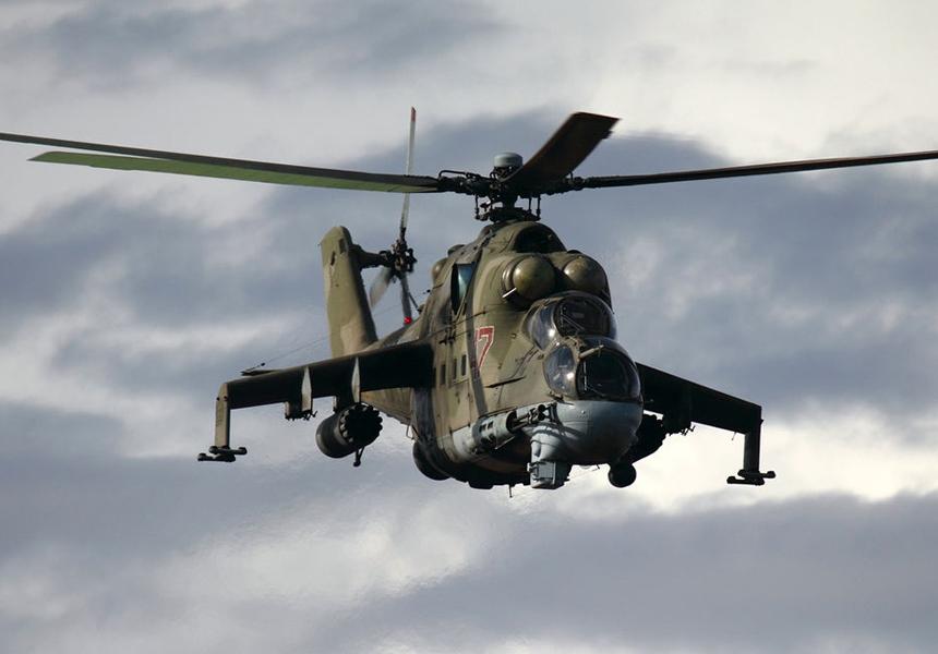 Российский боевой вертолёт Ми-24 улучшат до уровня современных машин