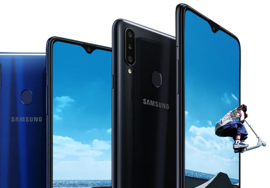 Бюджетный смартфон Samsung Galaxy A20s продают со скидкой 30%