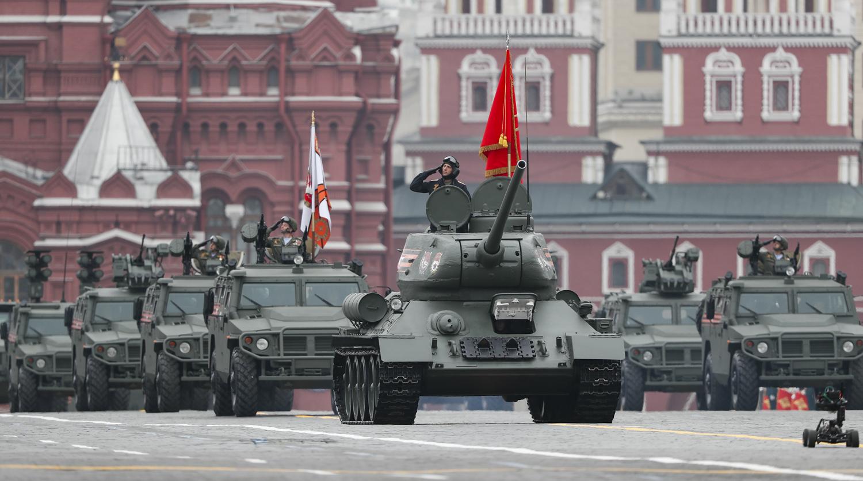 Российская техника, показанная на Параде Победы,