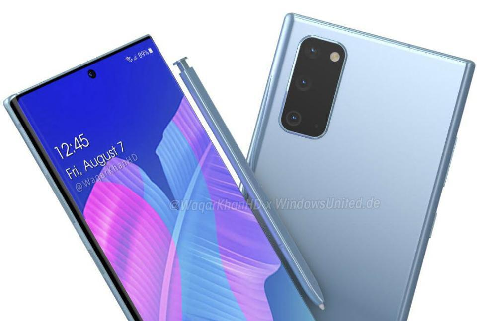 Samsung избавилась от проблем камеры Galaxy S20 Ultra в новом флагмане Galaxy Note 20