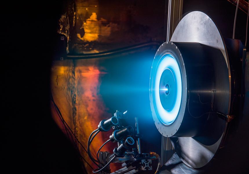 Россия испытает космические двигатели для межпланетных перелётов