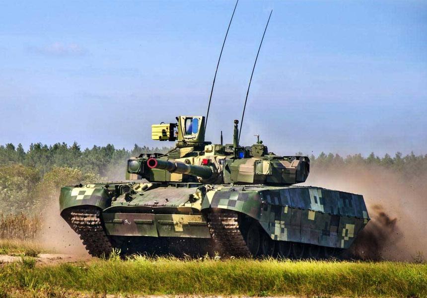 Украина провела учения с новейшими образцами оружия