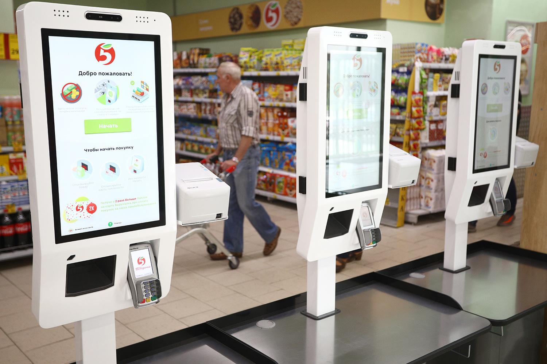 В России могут заработать магазины без кассиров