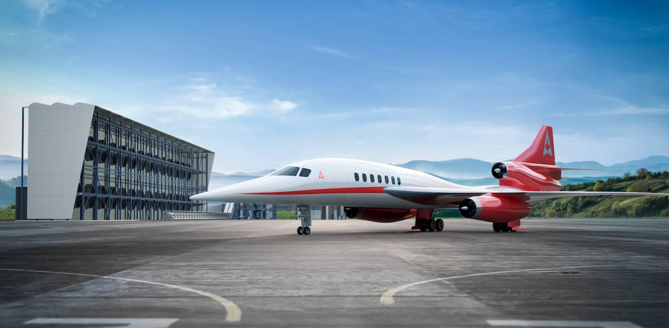 В США выпустят новейший сверхзвуковой пассажирский самолет уже в 2023 году