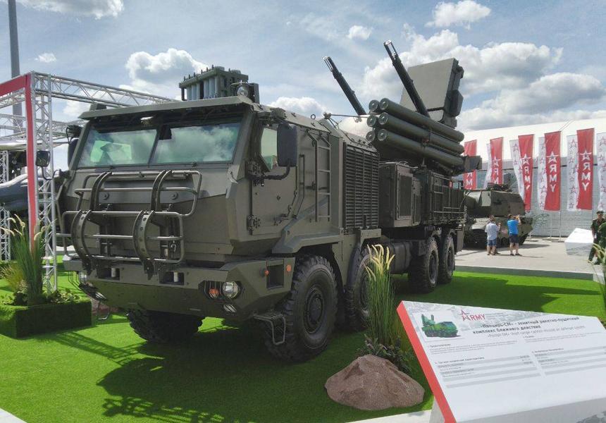 Российские военные на компьютере научатся стрелять из ракетно-пушечного комплекса «Панцирь-СМ»