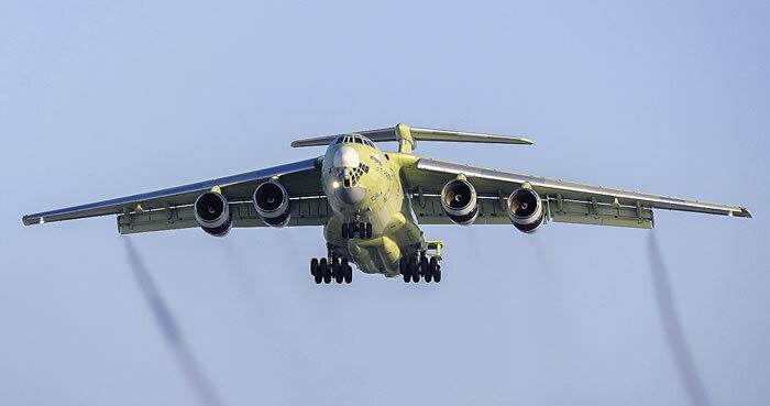 В России утвердили характеристики нового транспортного самолета