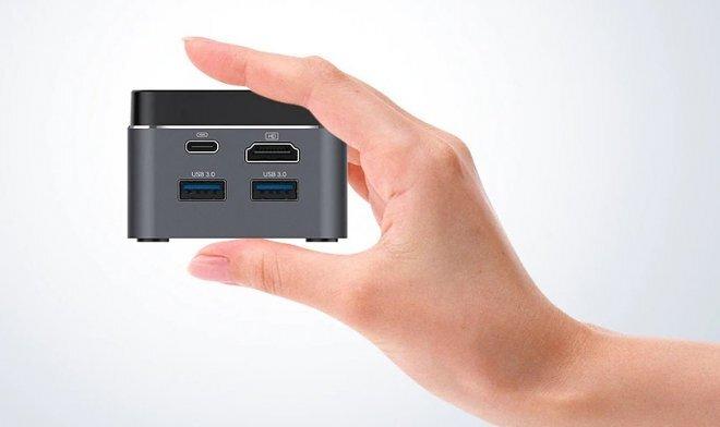 Выпущен мини-компьютер размером с ладонь