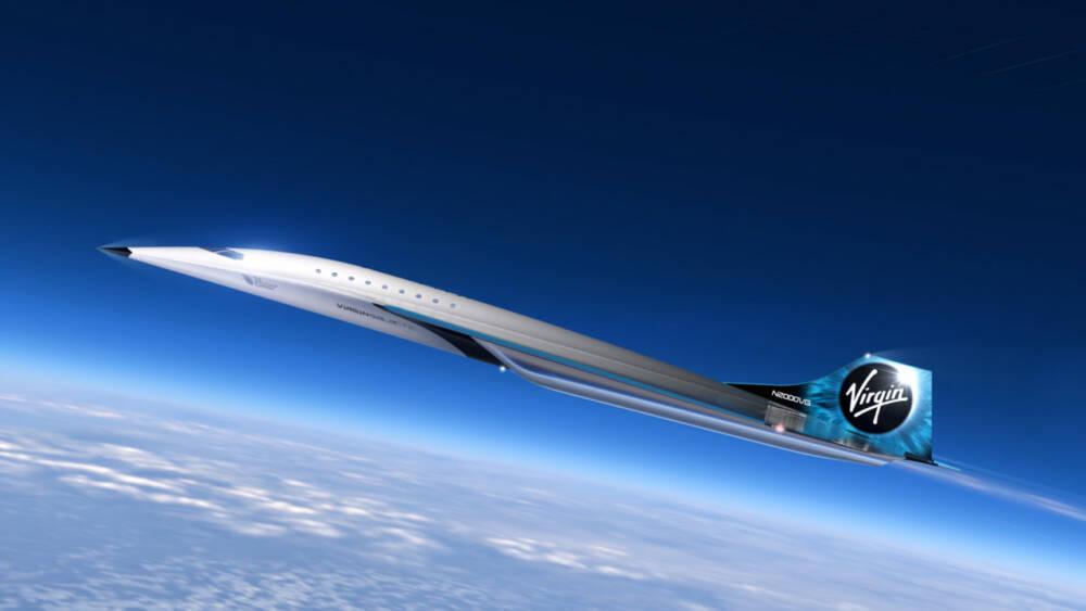 Крупная космическая компания представила дизайн нового сверхзвукового пассажирского самолета