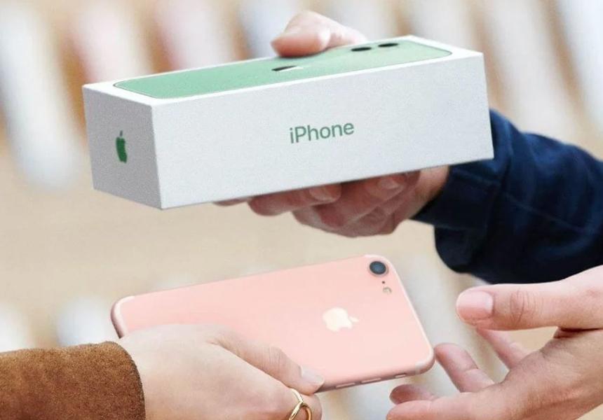 В России запустили дистанционный обмен старых iPhone на новые