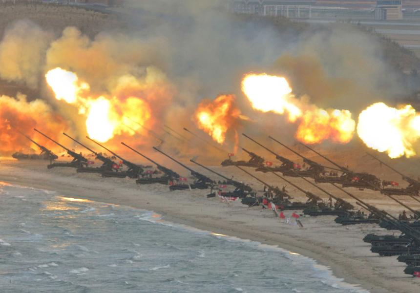 Подсчитано количество жертв в случае нападения Северной Кореи на Южную
