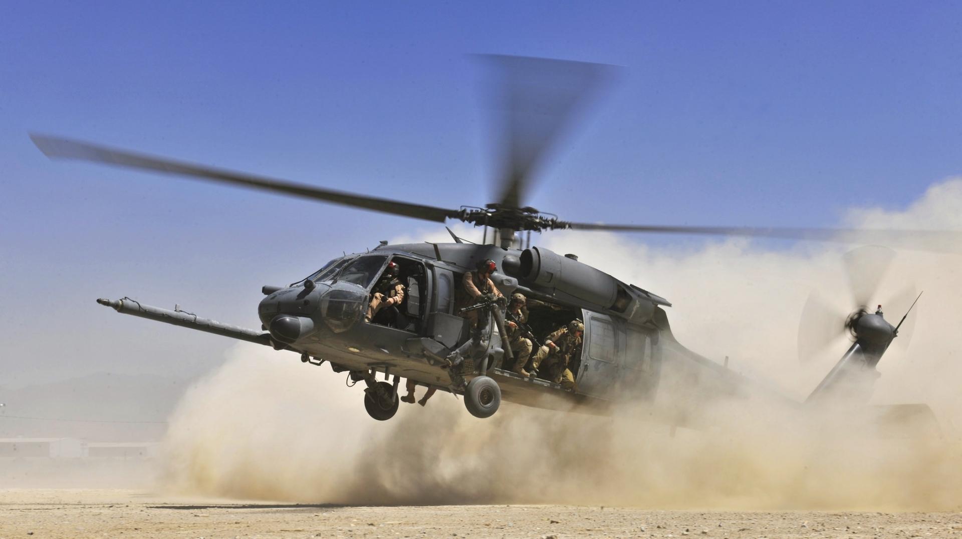 Военный вертолет США потерпел крушение в Сирии